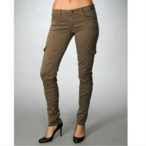 Joe's Jeans Military Chelsea Army Green Cargo 27